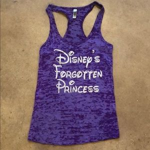 Disney Forgotten Princess Tank Top